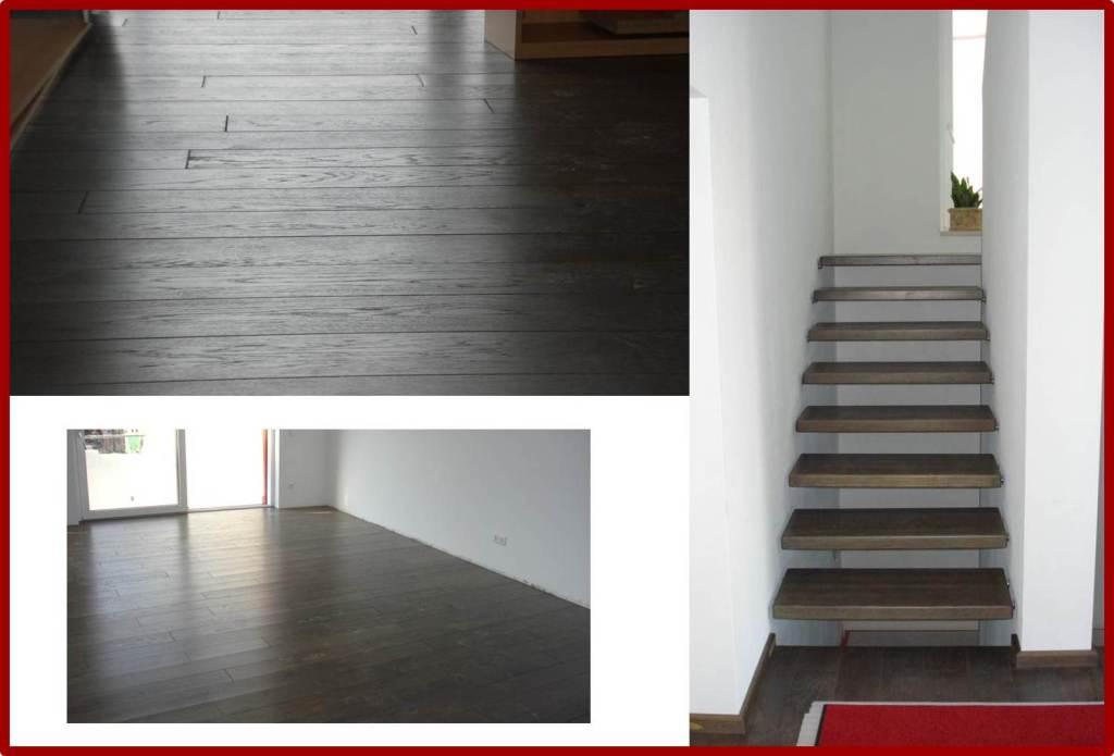 Matthias Halde - Eichenboden mit passender Treppe