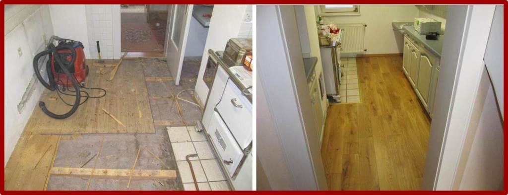 Matthias Halde - restaurierter Küchenboden