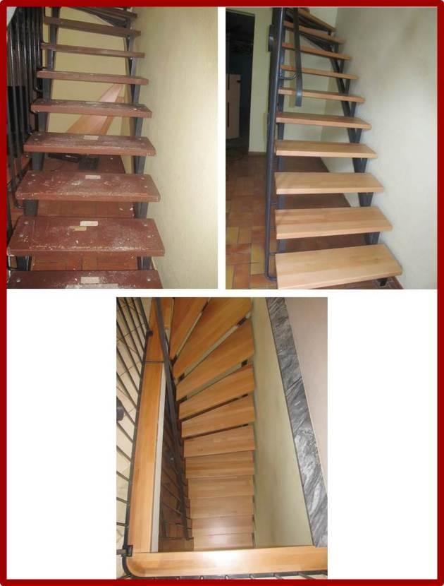 Matthias Halde - Restauration einer Holztreppe
